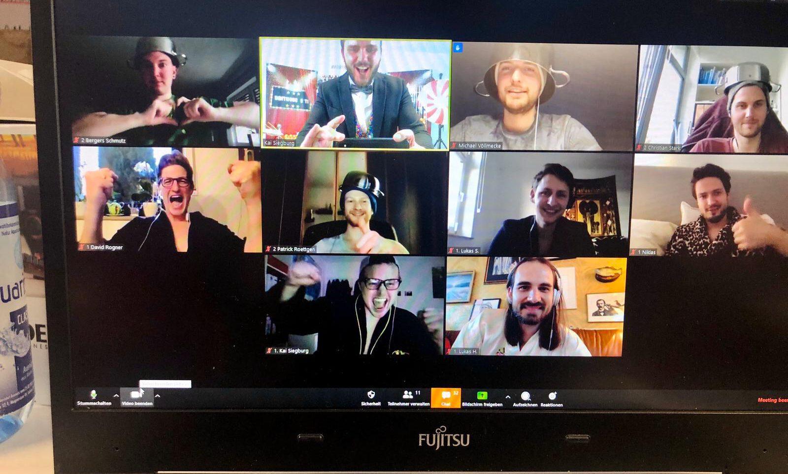 Digitale Teamevents